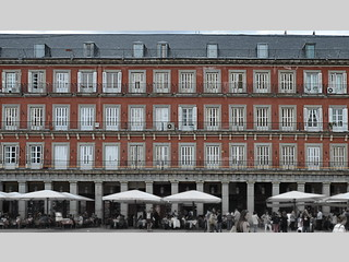 Fachada de la Plaza Mayor